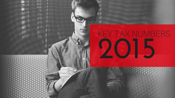 2015 Key Tax Numbers