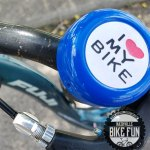 "Bike bell with ""I Love My Bike"" written on it"