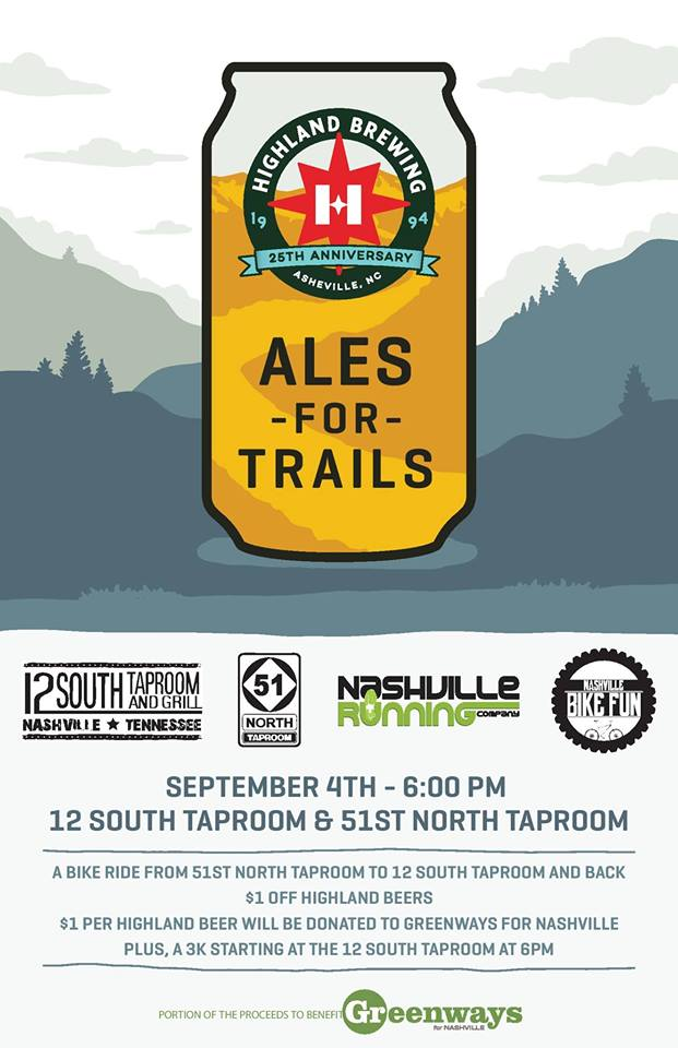 Poster for Ales for Trails 2019