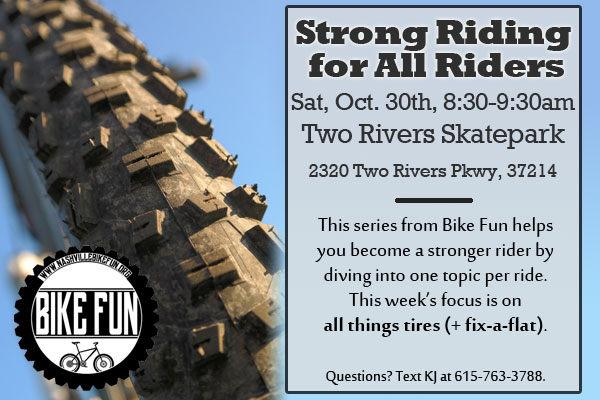 Strong Riding for All Riders - October 30, 2021 - Tires