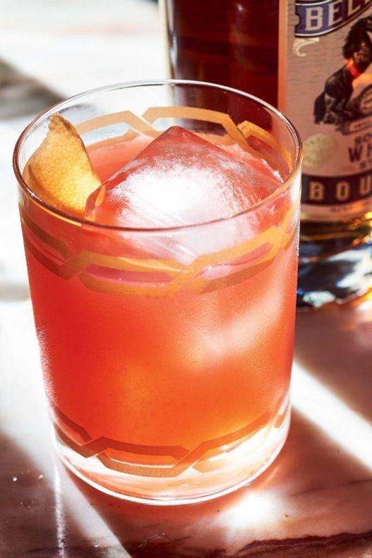 A Late Summer Bourbon Cocktail