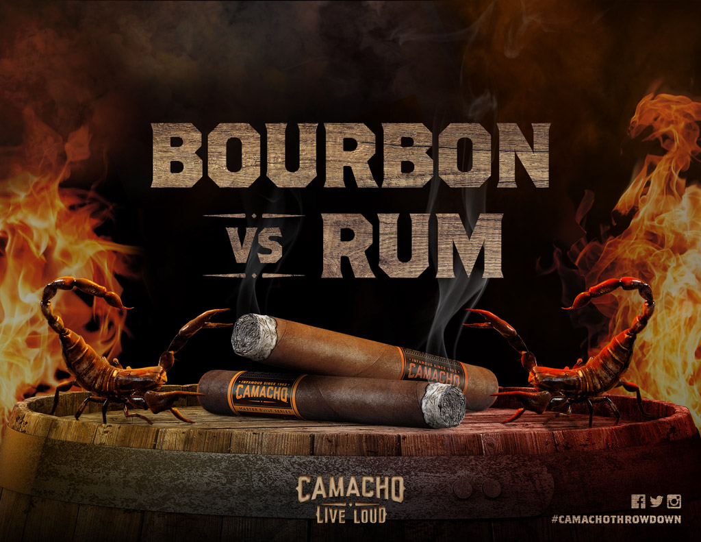 Camacho Launches Battle Between Barrel-Aged Cigars
