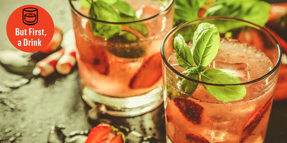 Strawberry Bourbon Lemonade for Your Labor Day Weekend Party