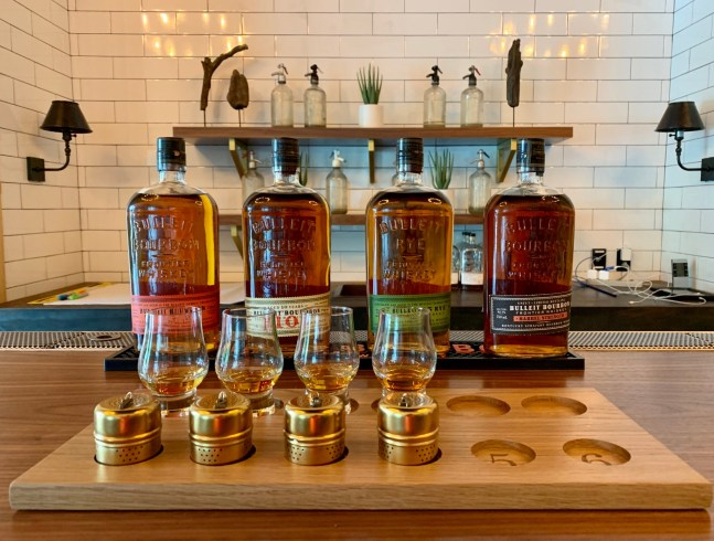 High Tech Bourbon Tasting with Bulleit on the Bourbon Trail