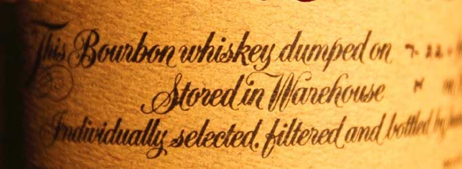 Blanton's Won the Whiskey Wars