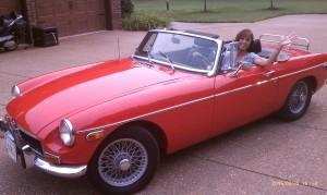 Glenda and Steve P's MGB