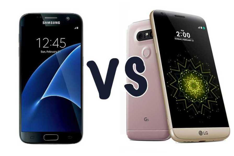 Samsung Galaxy S7 vs. LG G5