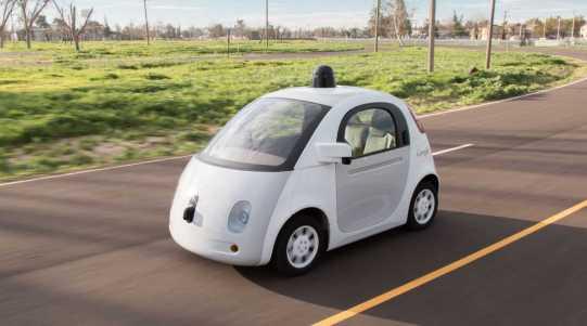 Self-driving Google Car