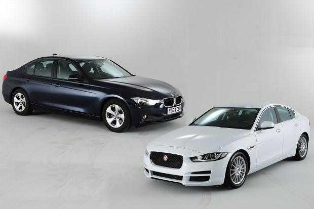 Jaguar XF and XE
