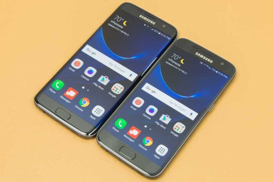 Samsung Galaxy S5 vs Galaxy S7 and S7 Edge