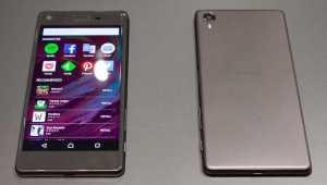 Sony Xperia X, Sony Xperia XA, Sony Xperia X Performance