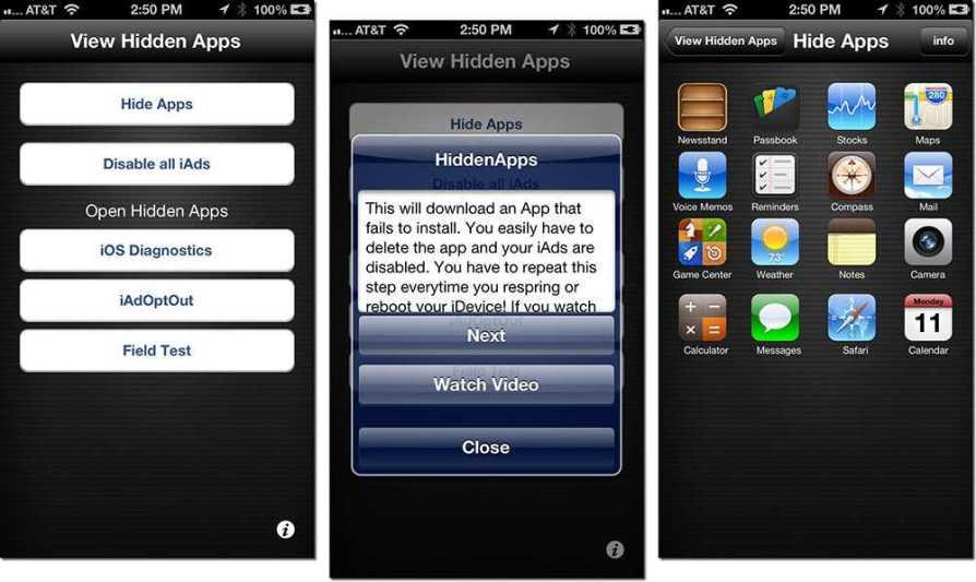 iPhone stock apps