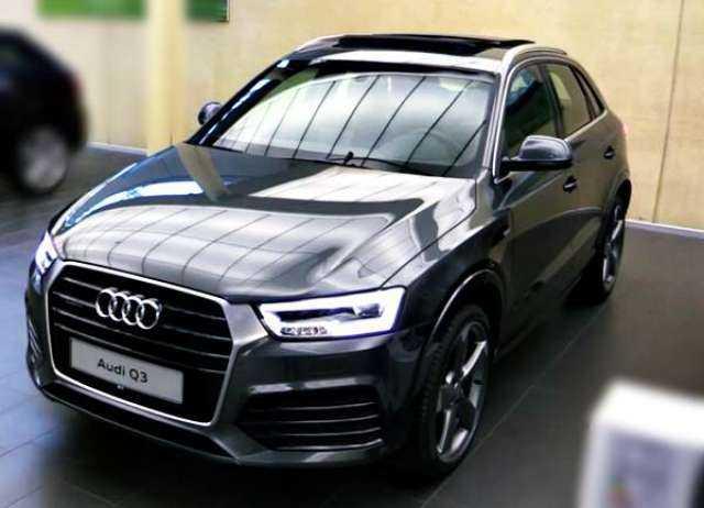 2017 Audi Q3 front