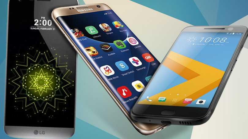 Samsung Galaxy S7 Edge vs. LG G5 vs. HTC 10