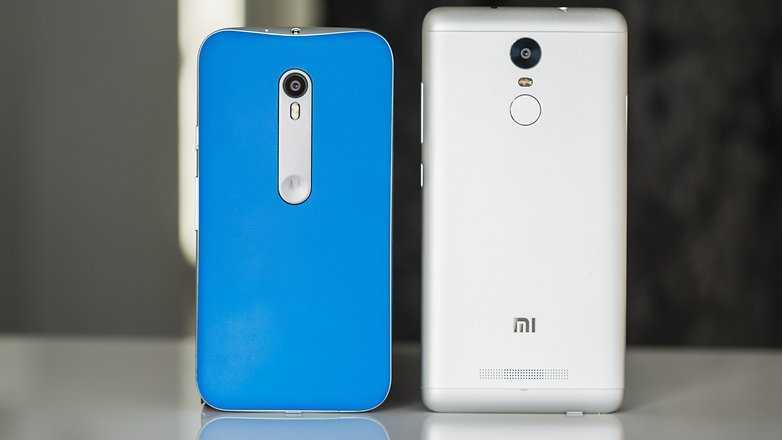 Xiaomi Redmi Note 3 vs Moto G4