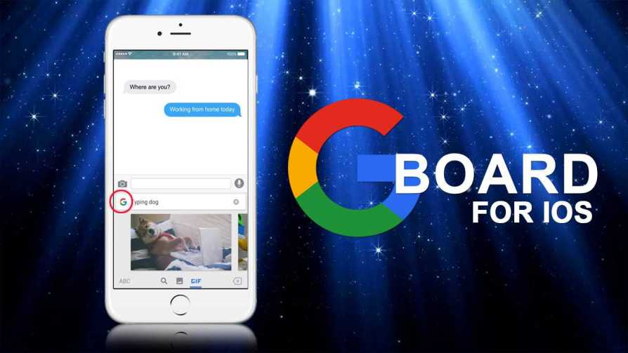 Apple iPhone gets Gboard
