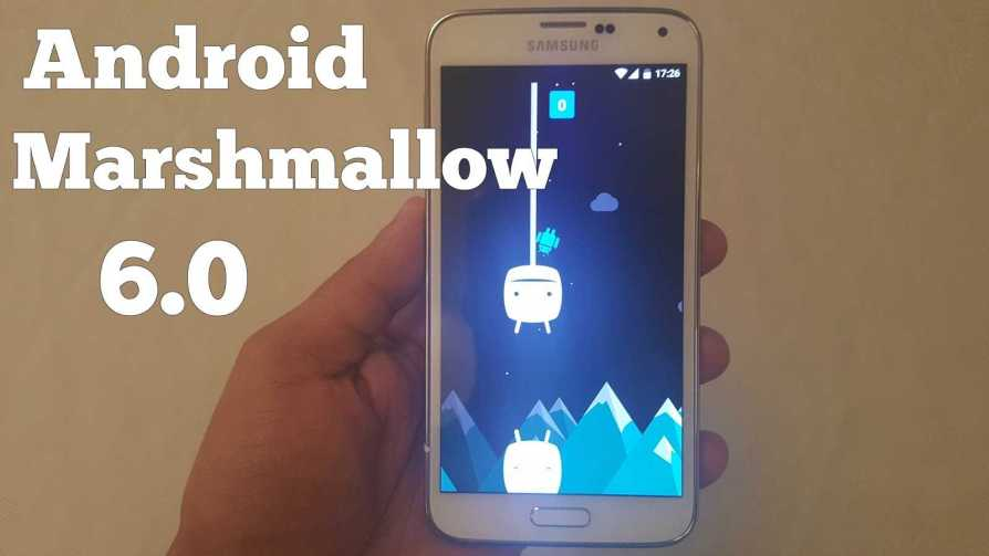 Galaxy S5 Android 6.0