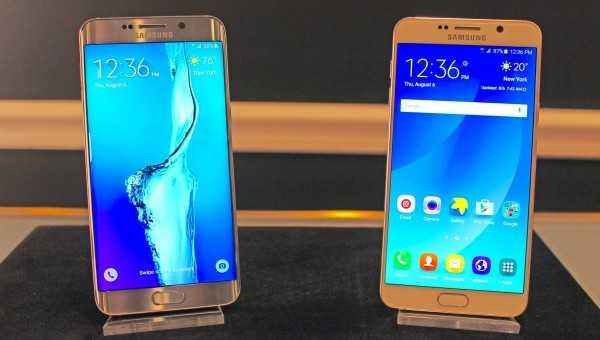 Samsung Galaxy Note 5, S6 Edge+ and LG G5 Verizon update