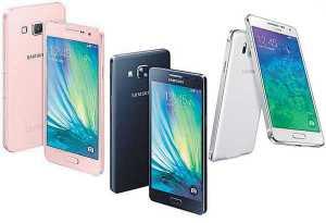 Samsung Galaxy A and Samsung Galaxy J series