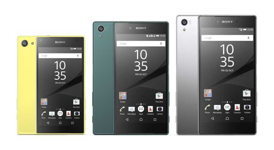Sony Xperia X series vs. Sony Xperia Z5 series