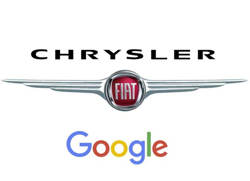 Fiat Chrysler and Google self-driving systems
