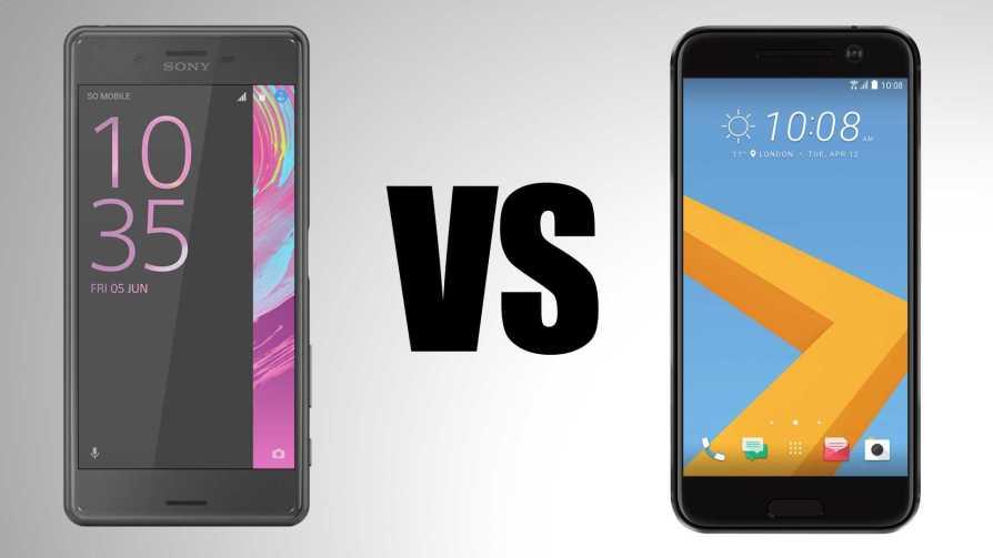 HTC 10 vs Xperia X Performance