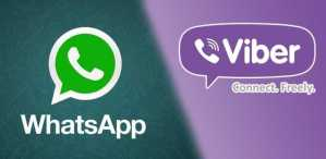 WhatsApp for PC vs Viber for PC