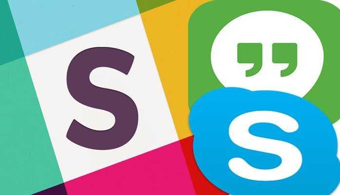 Slack vs Google Hangouts vs Skype