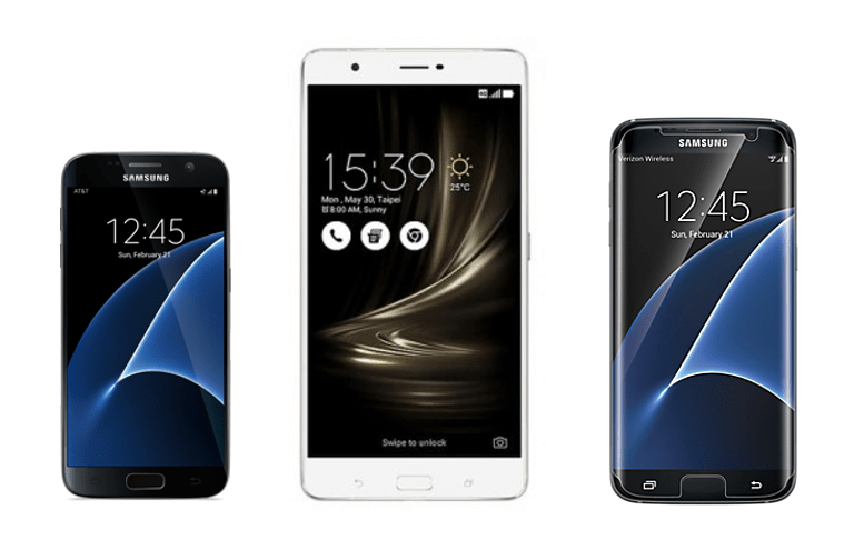 ASUS ZenFone 3 Ultra vs Galaxy S7 Edge