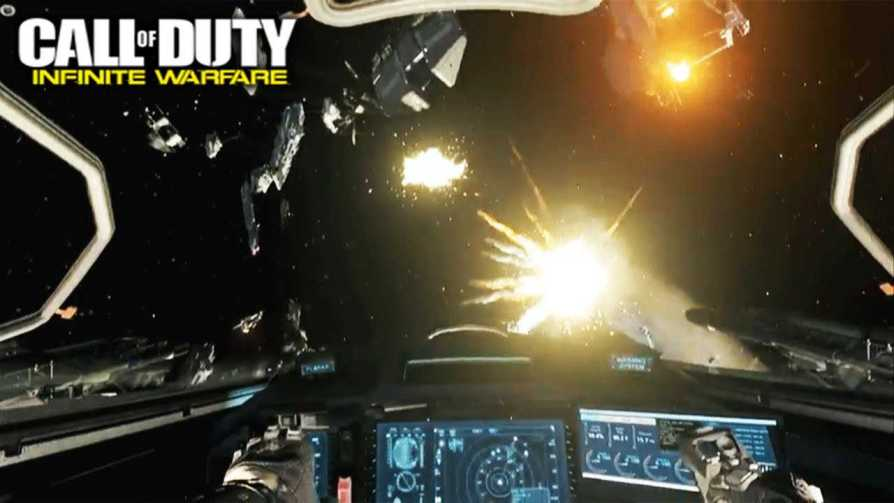 Call of Duty Infinite Warfare gameplay