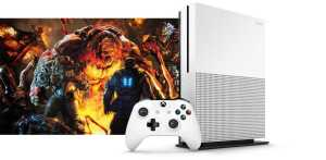 Xbox One White Slim Edition