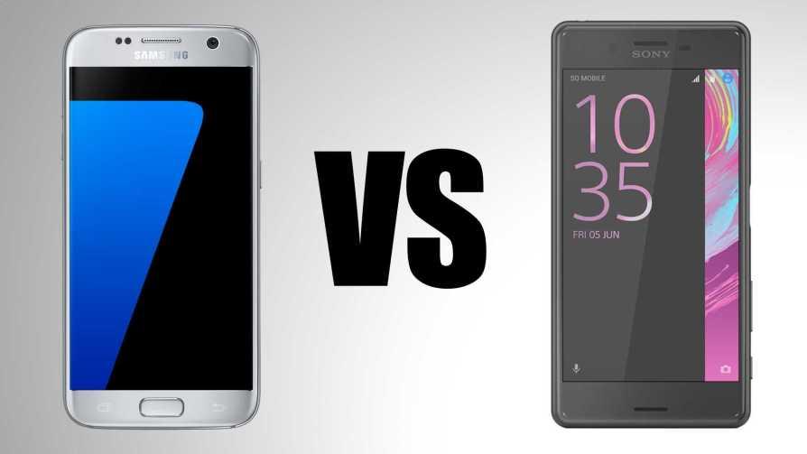 Xperia X vs Galaxy S7
