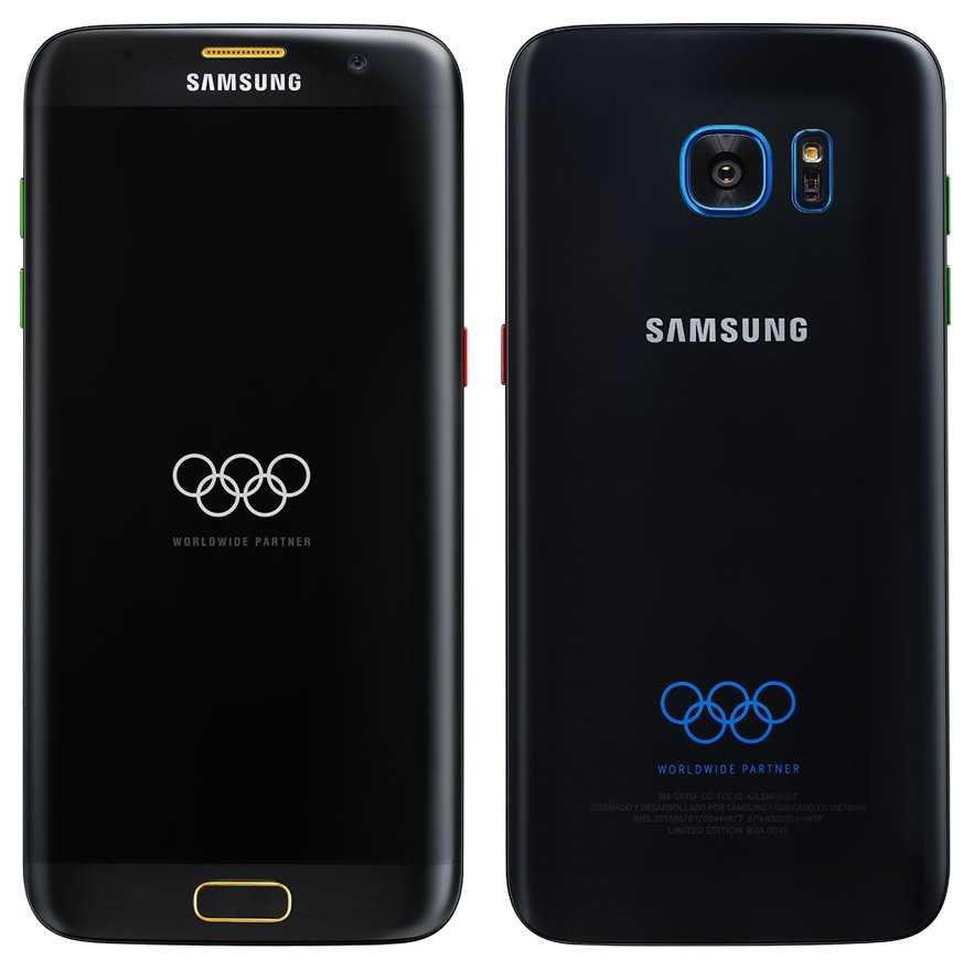 Samsung Galaxy S7 Edge Olympics Edition
