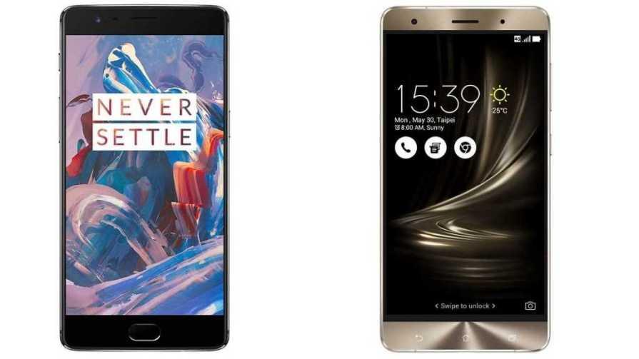 ASUS ZenFone 3 Deluxe vs OnePlus 3