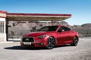 2017 Infiniti Q60 Coupe front