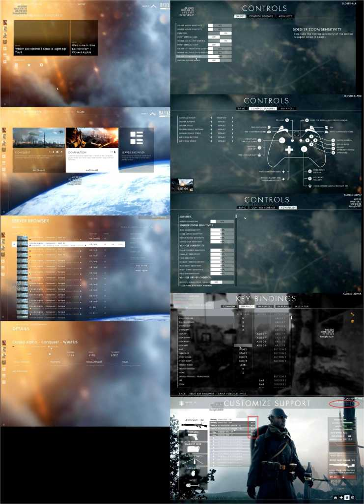 Battlefield 1 Alpha Game Leaked Screenshots