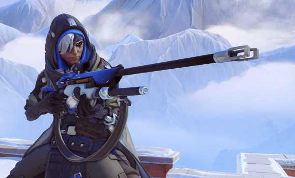 Blizzard Released Ana for Overwatch