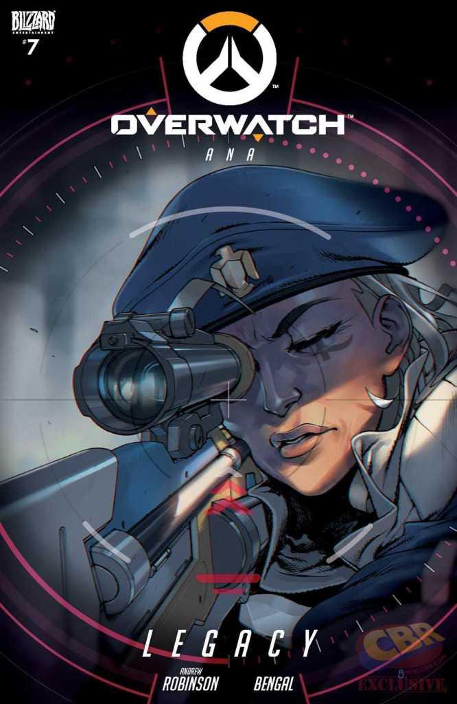 Overwatch Ana Hero