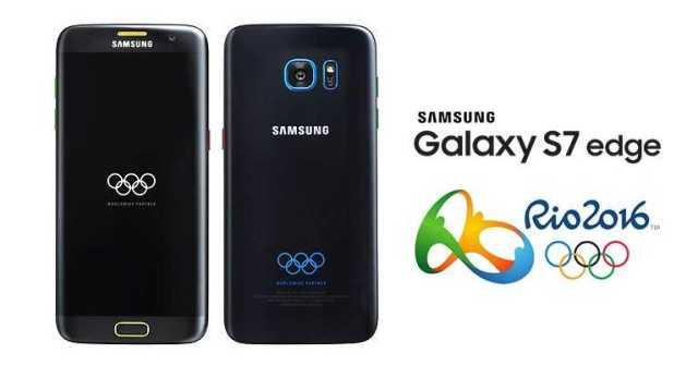 Samsung Galaxy S7 Edge Olympic