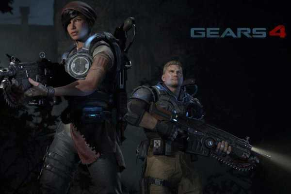 Xbox One Exclusives Gears of War 4