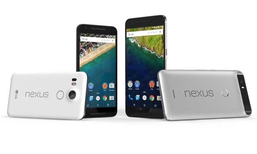 Nexus 6P and Nexus 5X Android Nougat Update