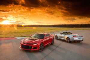 2017 Chevrolet Camaro ZL1 Convertible and Coupe