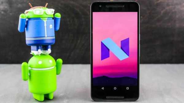 Android Nougat 7.0 on Nexus Phones