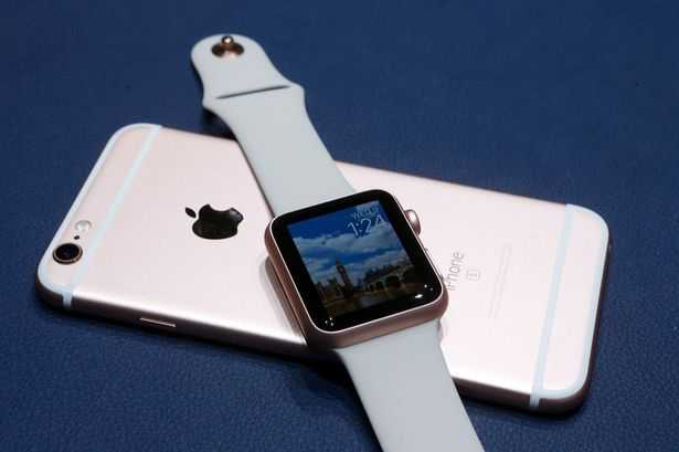 Apple iPhone and Apple Watch