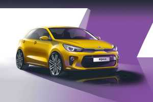 Kia Rio For Paris Auto Show