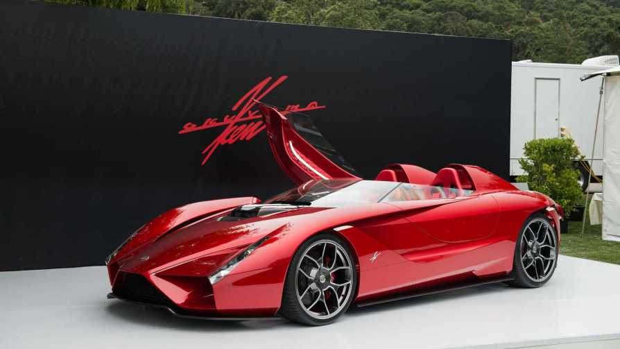 Kode57 Is A New Concept Car From Ken Okuyama
