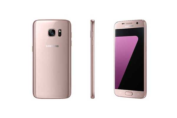 Samsung Galaxy S7 and Galaxy S7 edge Pink Gold