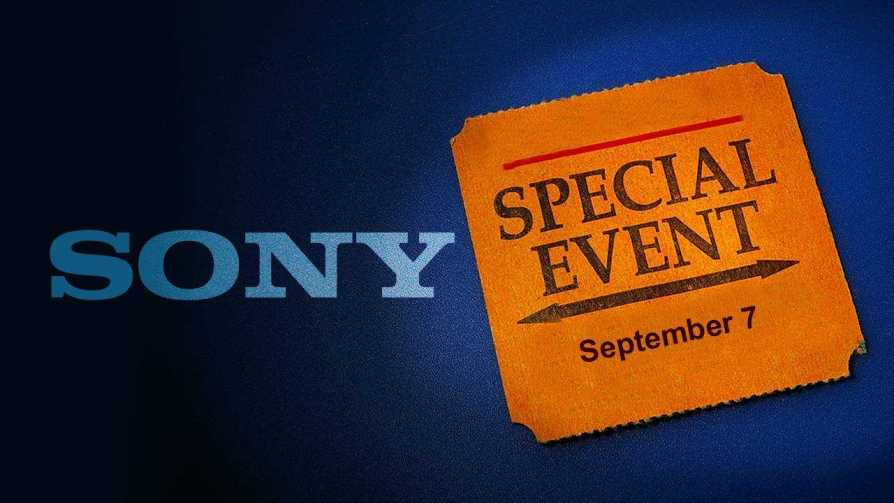 Sony Special Event