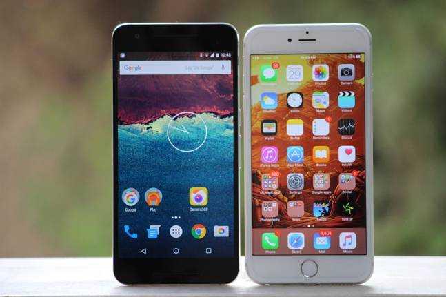 Galaxy Note 7 vs Nexus 6P vs iPhone 6S Plus