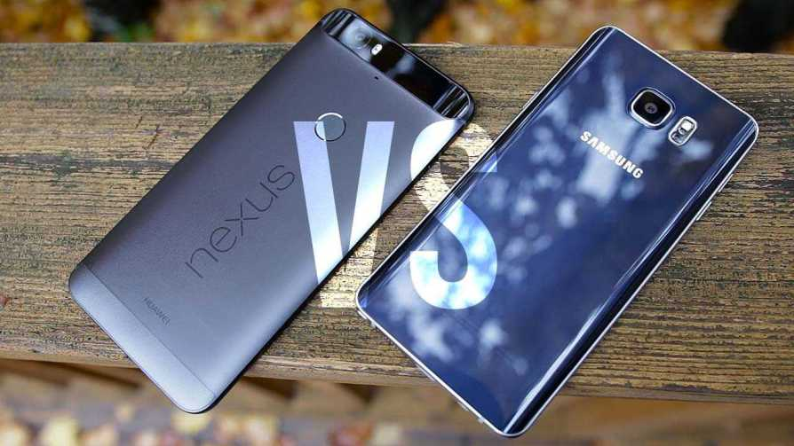 Galaxy Note 7 vs Nexus 6P